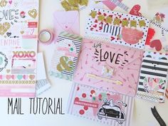 Mail Tutorial - Valentines Theme - YouTube                                                                                                                                                                                 More