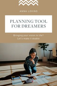 A planning tool for creatives to help you transform dreams to goals and actually reach your goals