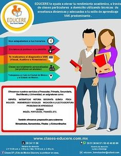 Clases particulares a domicilio EDUCERE Your Home Teacher.  #Clases, #Particulares, #Domicilio, #Educere, #Your, #Home, #Teacher