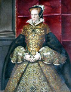 Queen Mary I (Mary Tudor) (after Hans Eworth) 355480 Mary I Of England, Queen Of England, Henry Viii, Henry Shaw, Hans Holbein The Younger, Tudor History, European History, British History, Tudor Dynasty
