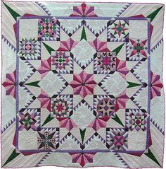 """""""Generations"""" by Carol Seeley, Canadian Quilters' Association"""