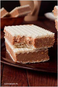 Zdjęcie: Wafle z mlekiem w proszku Polish Recipes, Polish Food, Mousse Cake, Vanilla Cake, Sweet Recipes, Tiramisu, Bakery, Food And Drink, Sweets