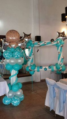 how to make balloon column frame