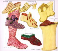 "1555-1570-""Chaussures""-John Peacock"