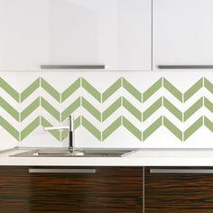 Luxury Brown And White Color Scheme Vinyl Wallpaper Kitchen