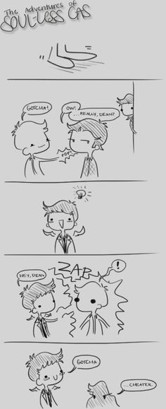 Soul-less Cas 45 by musicalirony on DeviantArt Funny Supernatural Memes, Supernatural Ships, Funny Memes, Funny Quotes, Funny Pictures With Captions, Super Natural, Destiel, Superwholock, Super Funny