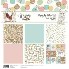 Simple Stories Simple Sets Collection Kit - Oh Baby! Adoption - The perfect start to your scrapbooking projects and more! This package contains six inch double-sided sheets and one inch sticker sheet. Acid and lignin free. Made in USA. Adoption Papers, Love Label, Cross Stitch Supplies, Borders For Paper, Halloween Books, Paintbox Yarn, Yarn Brands, Simple Stories, Red Heart Yarn