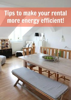 The Ultimate Guide to Making Any Rental More Energy Efficient - Renters Solutions - Apt. Apartment Guide, Apartment Living, Apartment Therapy, Apartment Design, My Little Kids, Renters Solutions, Berlin Apartment, Indoor Picnic, Energy Saving Tips