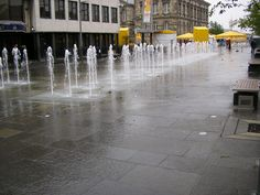 Custom House Square in Belfast, Northern Ireland.