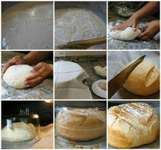 Preparación del pan