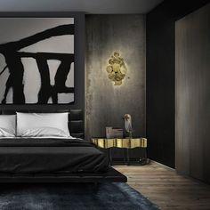 Master Bedroom Modern Nightstand Ideas from the Master Bedroom Collection Boca Do Lobo Sinuous Nightstand Luxury Bedroom Furniture Exclusive Design Bedroom Color Schemes, Bedroom Colors, Bedroom Decor, Bedroom Ideas, Bedroom Designs, Bedroom Lighting, Entryway Decor, Bedroom Chandeliers, Bedroom Table