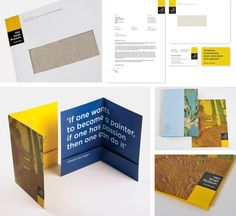 Koeweiden Postma – Flexible identity for the Van Gogh Museum, Amsterdam