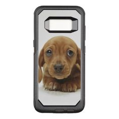 #Dachshund Puppy Lying Down OtterBox Commuter Samsung Galaxy S8 Case - #dachshund #puppy #dachshunds #dog #dogs #pet #pets #cute