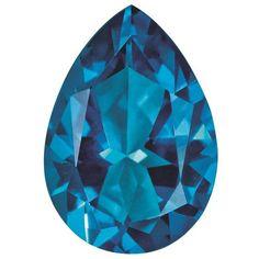 TOPAZ, KASHMIR BLUE, 10X7MM PEAR / STYLE: TP-1007-PSF-KB #QualityGold #Gemstones #LooseGemstones #Topaz #NaturalStones #Birthstone Birthstone Jewelry, Gemstone Jewelry, Crazy Colour, Color, Peridot, Birthstones, Topaz, Pendants, Jewels