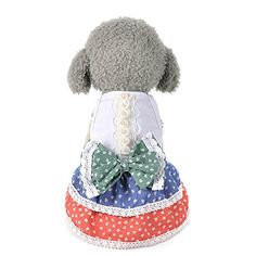 Homdeco Small Dog Pet Summer Tops Coat Dress Princess T Shirt Puppy Cat Costume Apparel A1 XS *** You can get more details by clicking on the affiliate link Amazon.com.