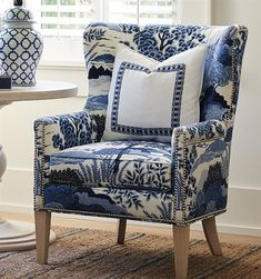 Shop this barclay butera avery wing accent chair (custom upholstery) from our top selling Barclay Butera living room chairs. LuxeDecor is your premier online showroom for living room furniture and high-end home decor. Chair Upholstery, Upholstered Chairs, Wingback Chair, Armchair, Chair Bench, Chair Fabric, Swivel Chair, Chair Cushions, Design Lounge