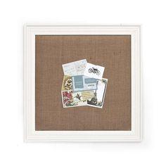 Vintage Cream Pin Board | Dunelm