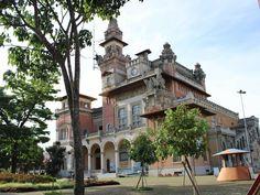 Ex-sede da Prefeitura de São Paulo, o antigo prédio do Palácio das Indústrias abriga hoje o Catavento Cultural.
