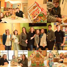 Our Marketing & Business Development teams decorated gingerbread houses with the kids at Sacred Heart Children's Hospital! It was so sweet! #LocalMatters #Communerosity