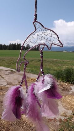 dream catcher dolphin shipping included by LandonsDreamCatchers