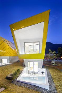MOAI by studio KOOSSINO #arquitetura #architeture #pin_it @mundodascasas See more here: www.mundodascasas.com.br