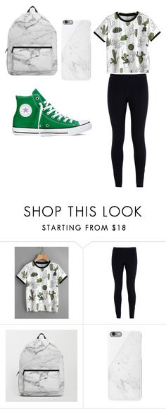 """""""Marble"""" by chloeswain ❤ liked on Polyvore featuring NIKE, Converse and Native Union"""