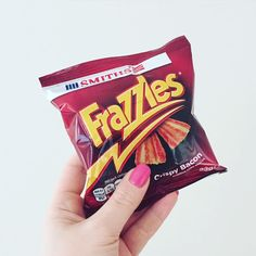 It's good but it's not bacon. #HolidayWeekendEats #frazzles #yum