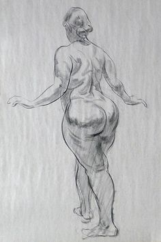 Female Figure Drawing Standing Female_standing01