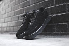 c0c2e6953b86 Nike Air Force 1 Low (Triple Black) - Sneaker Freaker