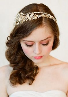Bridal hair peice