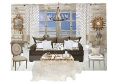 Outfit to room design- farmhouse glam. From Home Stories A to Z blog.