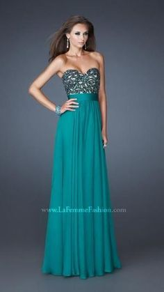 La Femme - Style 18581 #prom #dresses by karina