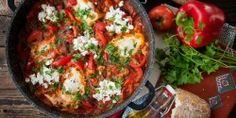 Harissa paszta | Nosalty Tofu, Baked Potato, Pizza, Potatoes, Tasty, Baking, Ethnic Recipes, Red Peppers, Potato