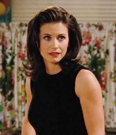 Courteney Cox 90's hair (Monica Geller. Friends)