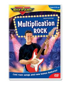 Take a look at this Multiplication Rock DVD by Rock 'N Learn on #zulily today!