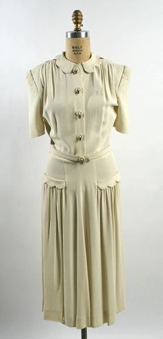 Afternoon Dress 1940