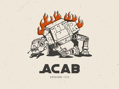 ACAB designed by jorge navajas. the global community for designers and creative professionals. Police Tattoo, Thug Style, Punks Not Dead, Shirt Ideas, Earn Money, Cool Art, Have Fun, Posters, Cool Stuff