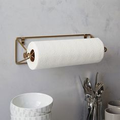 Wire Kitchen Collection - Mountable Paper Towel Holder: Remodelista