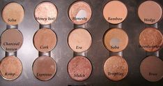MAC NEUTRAL PALETTES Neutral Browns: Neutral Pink/Purples: ...