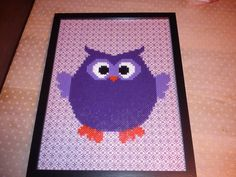 hama - owl Owl Always Love You, Owl Crafts, Beaded Cross Stitch, Forest Animals, Perler Beads, Kids Rugs, Woodland Animals, Kid Friendly Rugs, Fuse Beads