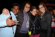 Sarah Austin @pop17 from Bravo's Silicon Valley Startups.. + Crew!  Yammer's Founders Party - Launch conference 2013