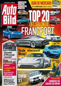 Revista #Autobild 490, #septiembre. ¡Top 20 de #Fráncfort!