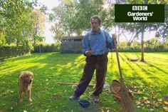 Monty Don explains how to care for your lawn in autumn, and shows how to aerate it to remove dead growth, in this short video guide on gardenersworld.com.