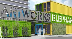 Plans submitted for pop-up shopping village at Heygate Estate | News | Building Design