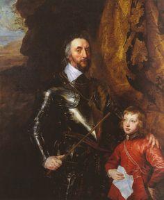 Antonis van Dyck, Thomas Howard, Graf von Arundel, und sein Enkel Thomas (Thomas Howard, Earl of Arundel, and his Grandson Thomas)