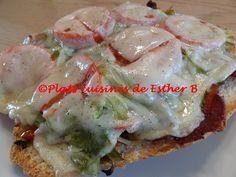 Les plats cuisinés de Esther B: Sous-marins avec viande à fondue