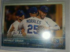 2015 Topps Update US191 Royals Crush - Kansas City Royals mlb champions in Sports Mem, Cards & Fan Shop, Cards, Baseball | eBay