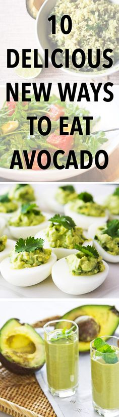 10 Delicious and Unexpected Avocado Recipes You Have to Try