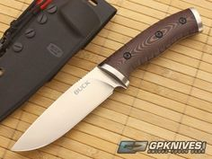 Buck 863 Selkirk Survival Fixed Blade 0863BRS