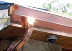 copper fascia & eaves trough